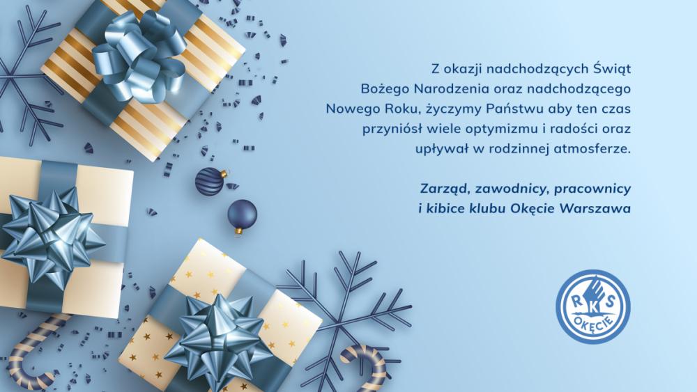 Życzenia Świąteczne - RKS Okęcie Warszawa