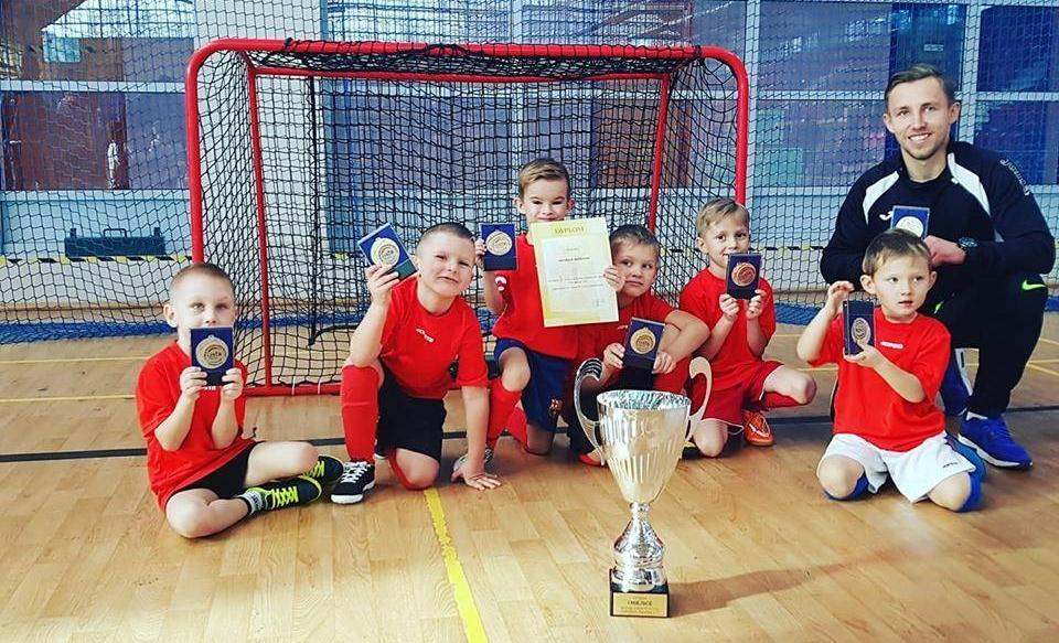 I turniej halowy rocznika 2012 złoty medal!!!