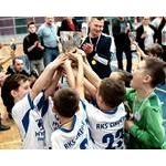 """Złoty medal w """"OSiR Włochy CUP""""  (rocznik 2010)  04.03.2018"""