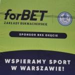 Bukmacher forBET wspiera nasz klub! - RKS Okęcie Warszawa