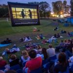 Kino letnie na stadionie RKS Okęcie