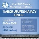 Nabór uzupełniający do roczników 2004, 2005, 2006 i 2007/2008