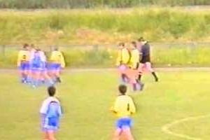 Embedded thumbnail for Rocznik 1980/81 - 1995 r. - RKS Okęcie Warszawa - Olimpia Warszawa 4:0