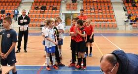 Srebrny medal w turnieju halowym OSiR Włochy Cup 05.01.2019.