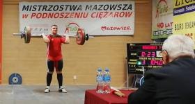 MISTRZOSTWA Mazowsza U-17 W PODNOSZENIU CIĘŻARÓW - 1 MIEJSCE Ryszard Sowiński