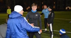 Piłkarze RKS Okęcie powrócili do treningów. Pierwsze zajęcia w 2020 r - RKS Okęcie Warszawa