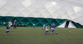 3 kolejka Ligi zimowej  rocznik 2011 RKS Okęcie Niebiescy - RKS Okęcie Biali - RKS Okęcie Warszawa