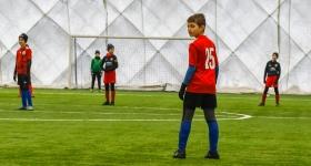 V Kolejka Ligi Zimowej RS SPORT RKS Okęcie- Barca Academy 11 Blau 7:4 - RKS Okęcie Warszawa