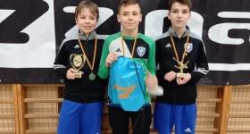 Pierwsze miejsce rocznika 2008 w turnieju ZINA CUP. - RKS Okęcie Warszawa