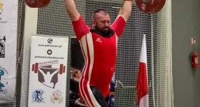 Sztangista Okęcia Arkadiusz Domański czwarty w XXXI Międzynarodowych Mistrzostwa Polski Masters  - RKS Okęcie Warszawa