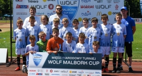 Turniej Wolf Malbork Cup - rocznik 2010 - RKS Okęcie Warszawa
