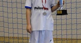 Srebrny medal w międzynarodowym turnieju halowym w Mrozach. 03/04 marca 2018.