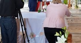 Ślub Michała Łuczyka z Wiktorią Pawlińską